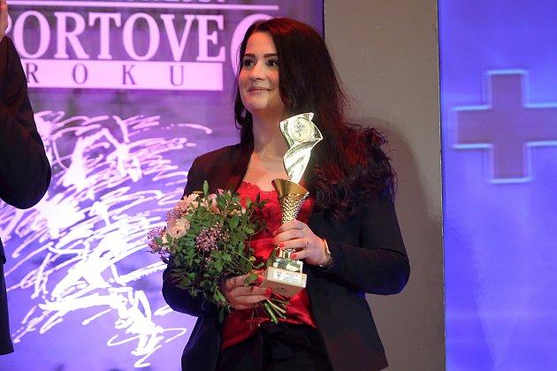Vyhlášení nejlepšího sportovce jižního Plzeňska. Střelkyně Michaela Štenglová.