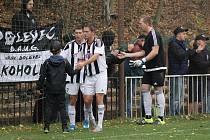Fotbalisté Bolevce (na archivním snímku) porazili Jiskru Domažlice B 2:0.