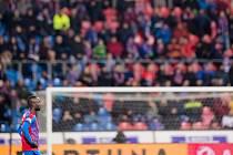 Situace z ligového zápasu Viktoria Plzeň - České Budějovice.