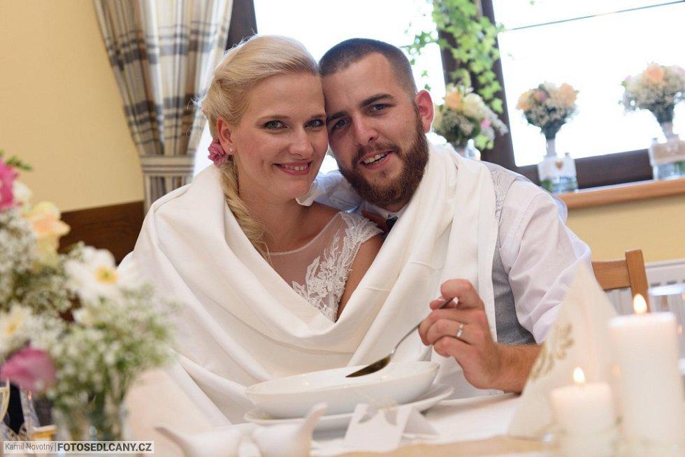 Kamila Kikinčuková se provdala za Jiřího Frumerta