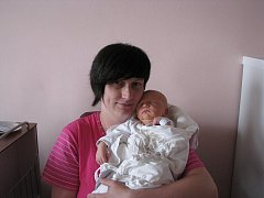 David (3,70 kg, 53 cm) se narodil 11. dubna v 19:17 ve FN v Plzni. Na světě ho přivítali maminka Violeta Blauciaková, tatínek Ivan Kostan a tříletá sestřička Viktoria z Plzně