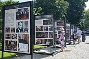 Fotografie plzeňské filharmonie v Křižíkových sadech.