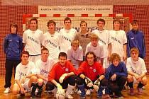 Jubilejní desátý ročník Mikulášského turnaje vyhráli v Městské hale na Slovanech mladíci Indossu Plzeň