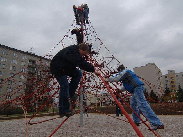 Dětské hřiště ve Skvňanech