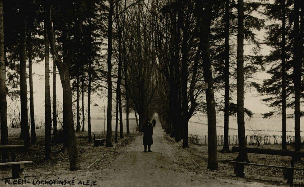 Kilometrovka potřebuje obnovu. I kvůli bezpečnosti. Na snímku je její podoba v roce 1920.