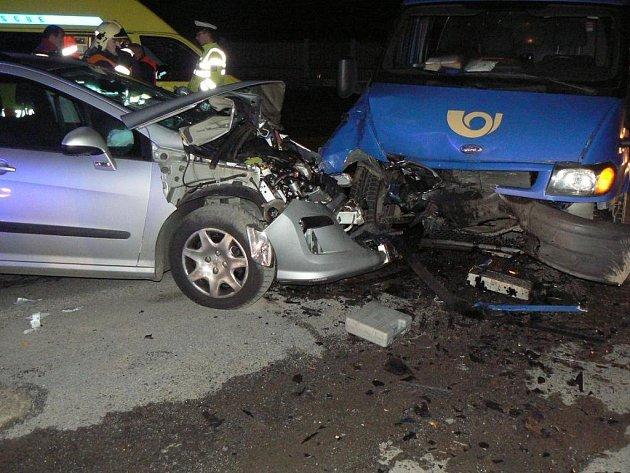 Nehoda v Nýřanech