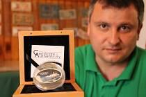 Numismatik Roman Šlehover z Kokořova a část jeho sbírky