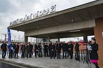 Otevření autobusového terminálu - Šumavská, Plzeň