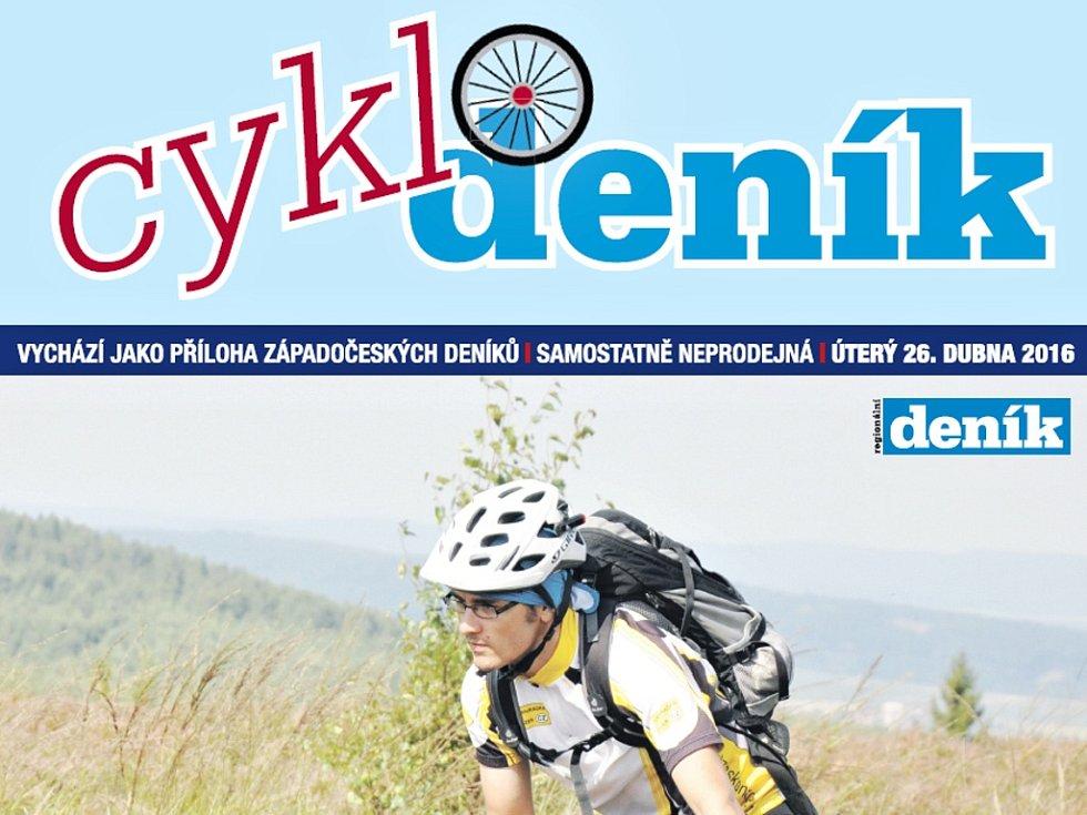 Speciální příloha Deníku pro cyklisty a cykloturisty
