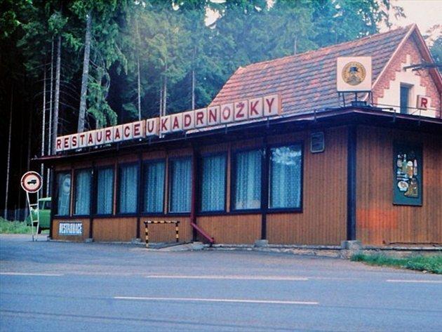 Motorest Kadrnožka na archivním snímku ze začátku 90. let. Nyní už je srovnán se zemí.