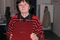 Kronikářka a místostarostka Horní Lukavice Jaroslava Regnerová