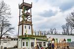 Nová rozhledna ve Spáleném Poříčí - Šťastná věž
