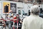 Plzeň, Domov důchodců, Divadlo Alfa, představení