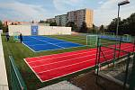 Nové sportoviště v Plzni-Skvrňanech