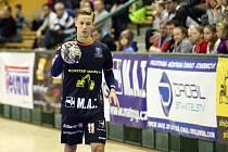 Utkání rozhodlo prvních pět minut druhého poločasu. Na snímku je Ondřej Šafránek.