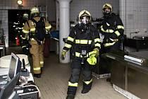 Hasiči Na Spilce cvičili zásah během případného požáru