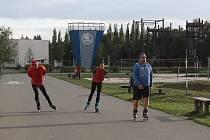 Bruslaři by se prodloužení dráhy ve Škoda Sport parku mohli dočkat už v roce 2017