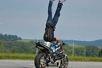 Stuntrider Martin Krátký v akci