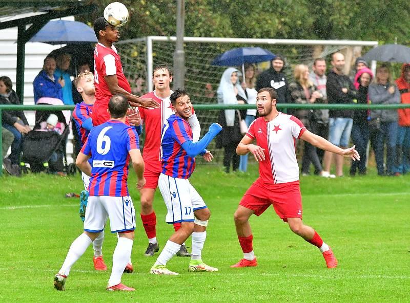 15. kolo FORTUNA ČFL: Slavia Karlovy Vary - FC Viktoria Plzeň B 1:0 (0:0).
