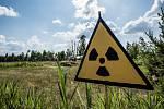 Místo k moři jel fotograf Milan Říský na místo jaderné havárie.