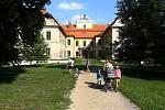 zámek Křimice zámecký park