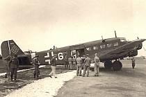 Dopravní letoun Junkers Ju 52 od Transportgeschwader 4