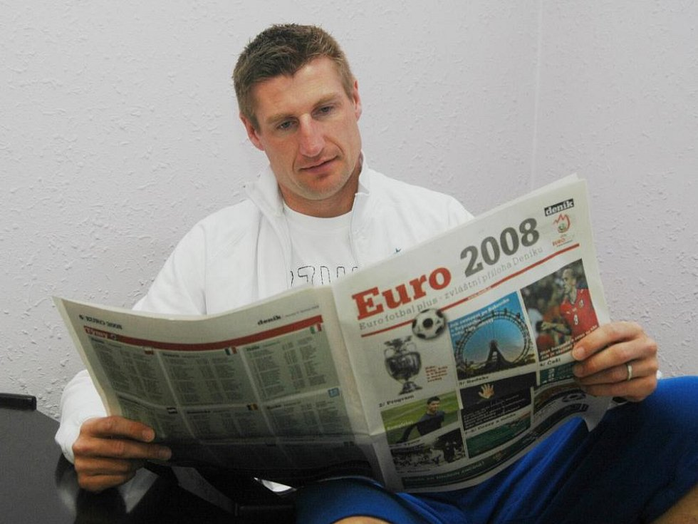 Fotbalový internacionál Petr Vlček.