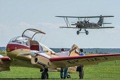 Den ve vzduchu s Plzeňským krajem na letišti v Plasích. Polikarpov Po-2 Kukuruznik – Historický dvouplošník z 2. světové války