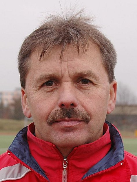 Trenér Josef Dobrý.