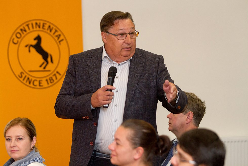 Setkání s hejtmanem v Plzni - Ota Rubner