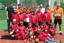 Mladší žáci TJ Přeštice skončili v mistrovství republiky těsně druzí.