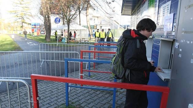 O lístky na utkání Ligy mistrů v Manchesteru nebyl velký zájem