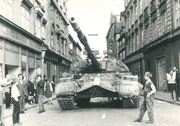 Výsledek obrázku pro okupace 1968