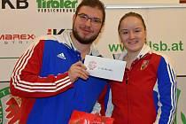 Sportovní střelci Dukly Plzeň Jindřich Dubový a Anna Dědová získali bronz v soutěži smíšených dvojic.