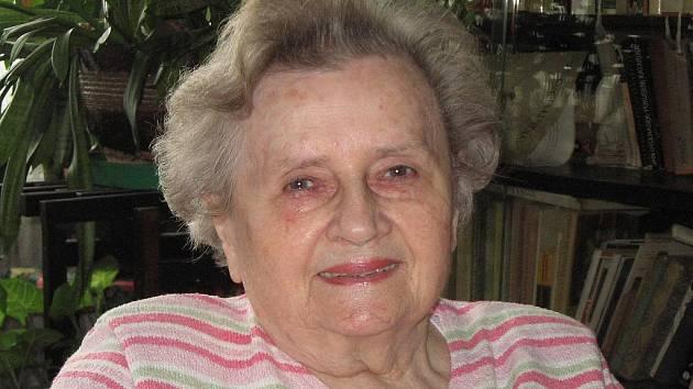 Věra Skálová–Selnerová v roce 2010.