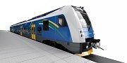 Hlasující vybrali modrou variantu vlaku.