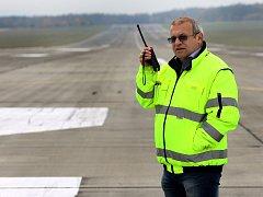 Lubomír Hrudička, ředitel letiště Plzeň - Líně
