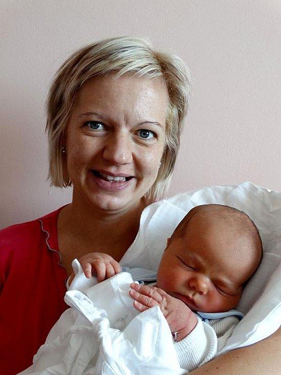 Čtyřletá Terezka se již doma v Plzni těší na brášku Davida Rojku, který se narodil 20. srpna v 9:45 mamince Vlastě a tatínkovi Tomášovi. Po příchodu na svět vážil 3 950 gramů a měřil 51 cm
