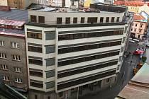 Budova bývalého krajského výboru KSČ na Americké třídě v Plzni