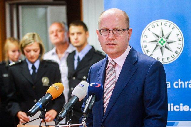 Premiér Bohuslav Sobotka navštívil Plzeňský kraj