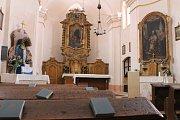 Zrekonstruovaný kostel sv. Jiljí v Krašovicích