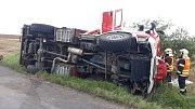 Dvěma nehodami u Chotěšova se zabývají policisté.