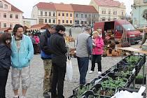 Farmářské trhy v Nepomuku