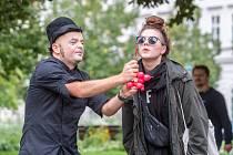 Představení Gumová hlava - Festival Divadlo 2017