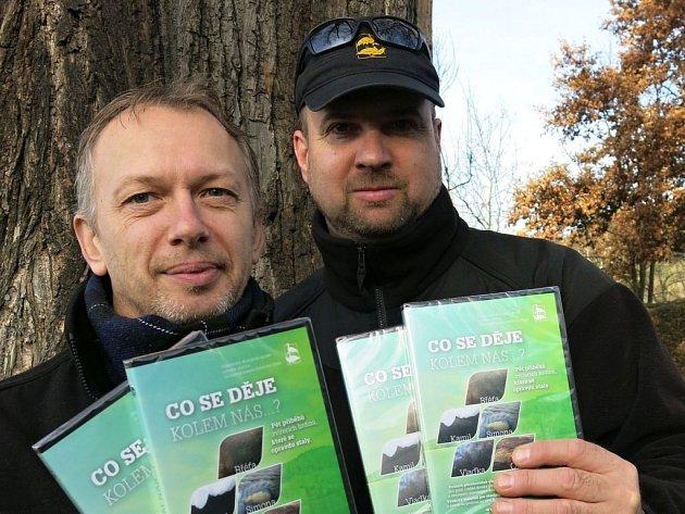 Na DVD pracovali hlavně Vladimír Nový (vlevo) a Karel Makoň.