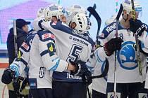 Hokejisté HC Škoda Plzeň slaví postup do semifinále