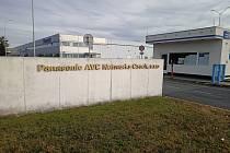 Výrobní závod Panasonic AVC Networks Czech v Plzni.
