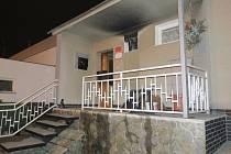 Požár rodinného domu v Plzni-Lobzích