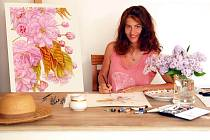 Botanická umělkyně Pavlína Kourková žije a tvoří už několik let v Plzni.