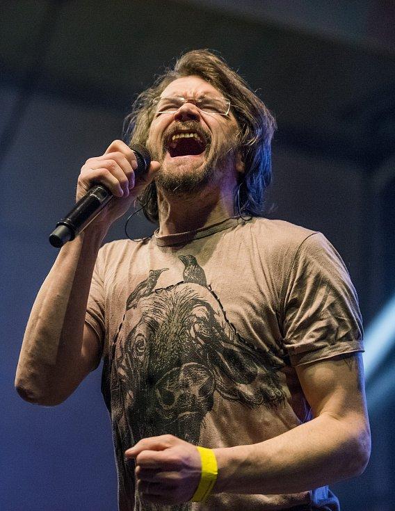 Během slavnostního večera vystoupila také kapela Alice s Danem Bártou.